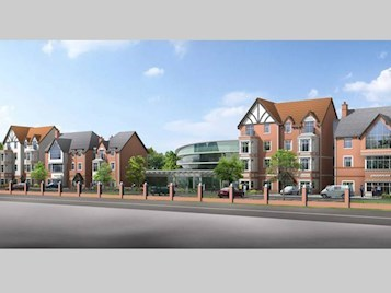 Local residents support plans for hagley road extracare for Retirement village house plans
